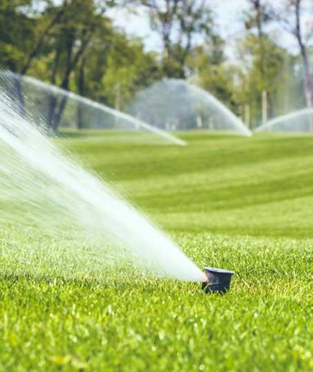Green Path Landscape Company Sprinkler Installation